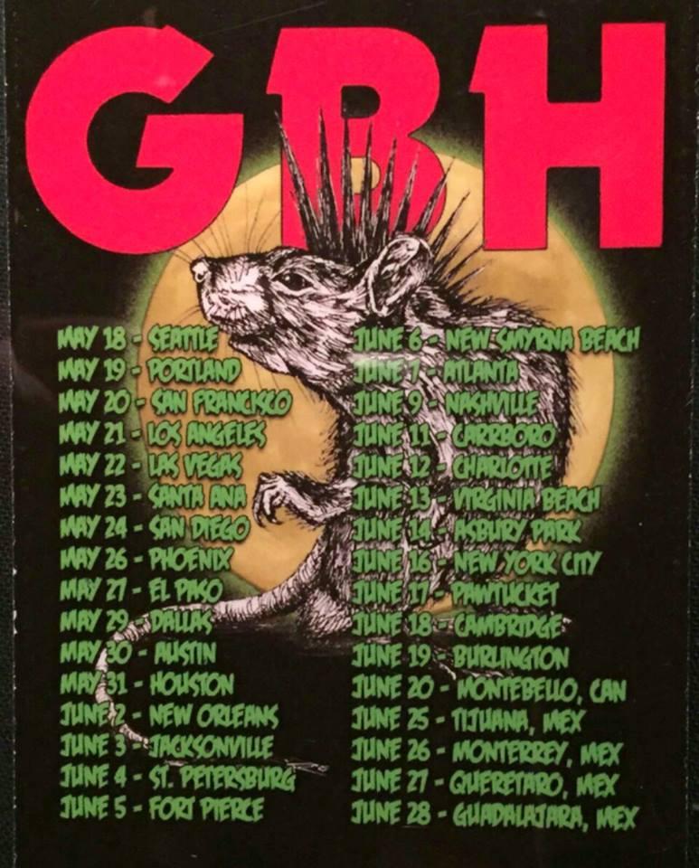 North American Tour 2015